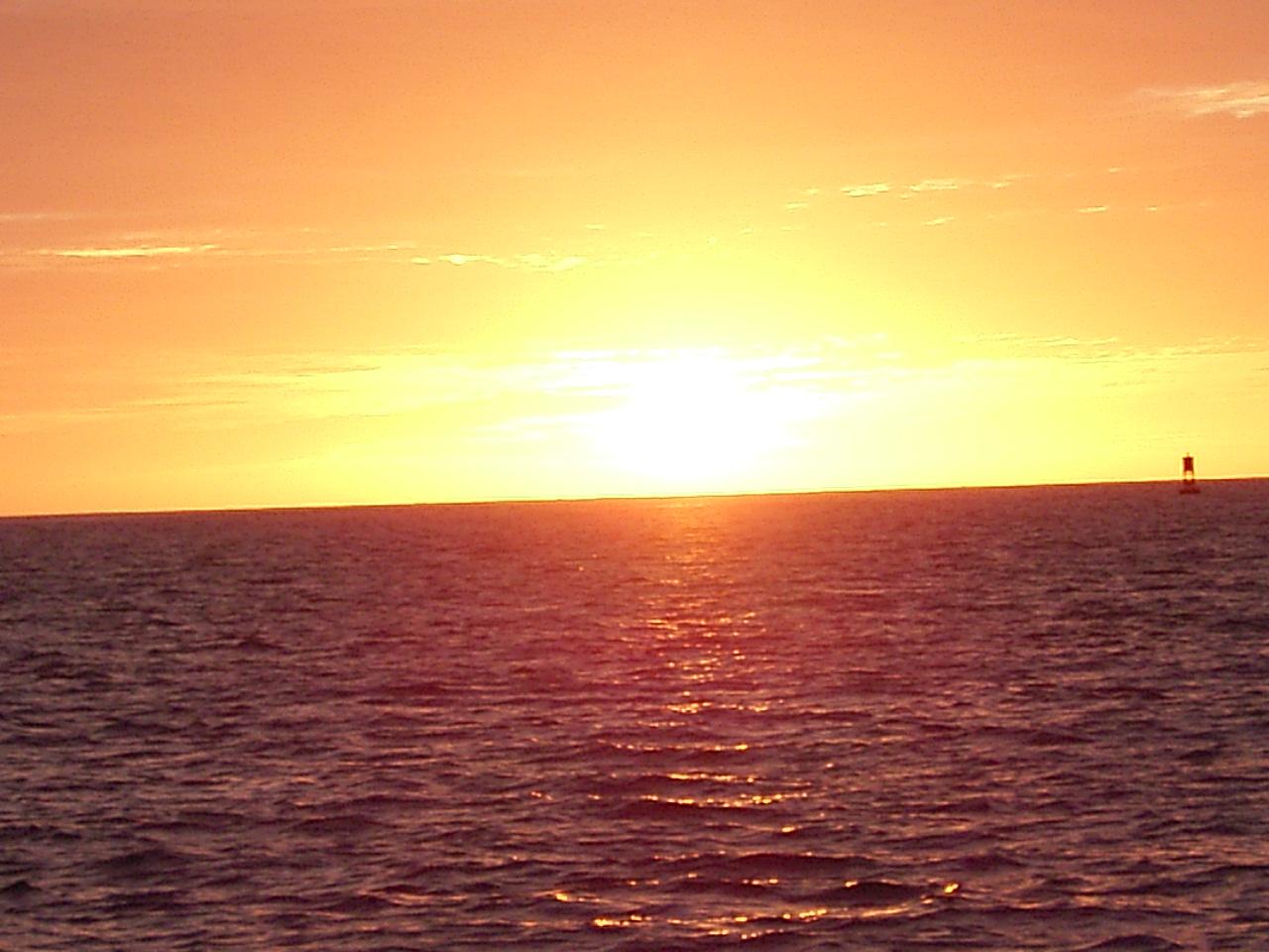 20190117_Guamでの夕焼け